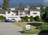 West Kelowna Exterior Stucco Re-paint - Before
